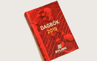 Dagbók Eflingar 2019 fáanleg á skrifstofu félagsins