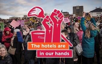Marsz kobiet w Międzynarodowy Dzień Kobiet 8 marca