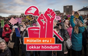 Kröfuganga og dagskrá í Gamla bíó 8. mars
